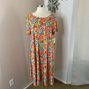 LulaRoe Little Mermaid Carly Dress New With Tags
